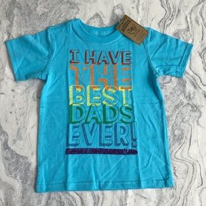 🌈Toddler 4T I Have The Best Dads Ever! Tee Shirt